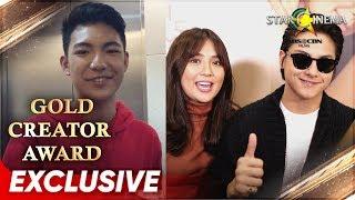 Maraming salamat Kapamilya! - Star Cinema's Gold Creator Award