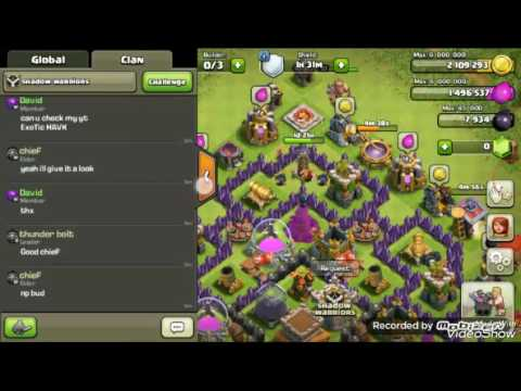 Clash of Clans trade