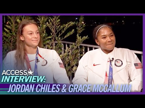 Jordan Chiles & Grace McCallum Praise Simone Biles For Putting Team 'In Front Of Her'