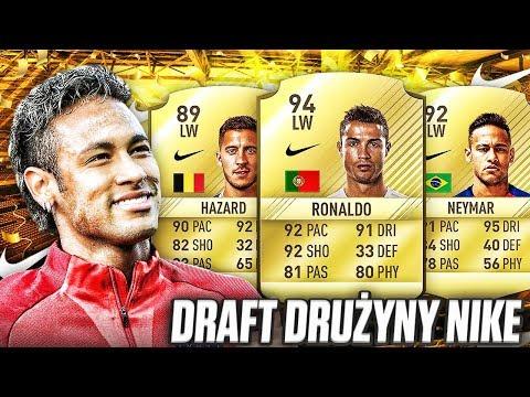 DRAFT DRUŻYNY NIKE!! FIFA 17 #TEAMNIKE