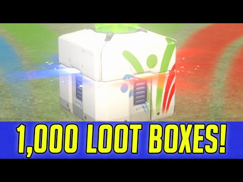 RICH KID BUYS 1,000 OVERWATCH LOOT BOXES : SUMMER GAME LOOT