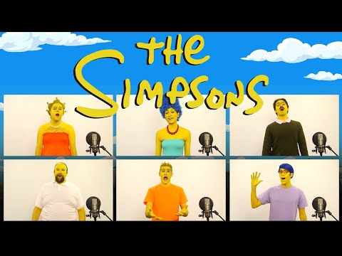 THE SIMPSONS THEME SONG ACAPELLA! (ft. Brizzy Voices)