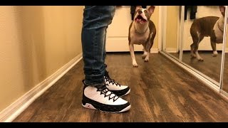 Jordan 9 Space Jam Review + On Foot