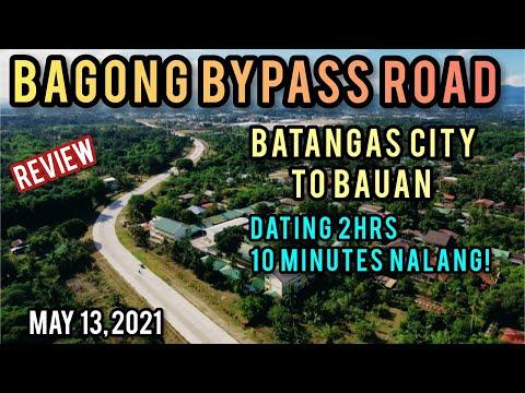 MALAKING GINHAWA ITO!  BATANGAS CITY-BAUAN BYPASS ROAD! NEWL