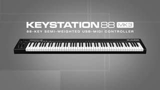 M-Audio || Introducing the Keystation 88 MK3