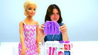 Мультик для девочек Кукла Барби в магазине одежды. Шоппинг!
