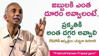 జబ్బులకి ఎంత దూరం అవ్వాలంటే  - ప్రకృతికి అంత దగ్గర అవ్వాలి - Prakrutivanam Prasad