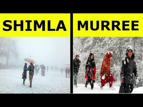 Shimla vs Murree Full Hill Station Comparison UNBIASED 2018   Murree and Shimla   India's Top Facts