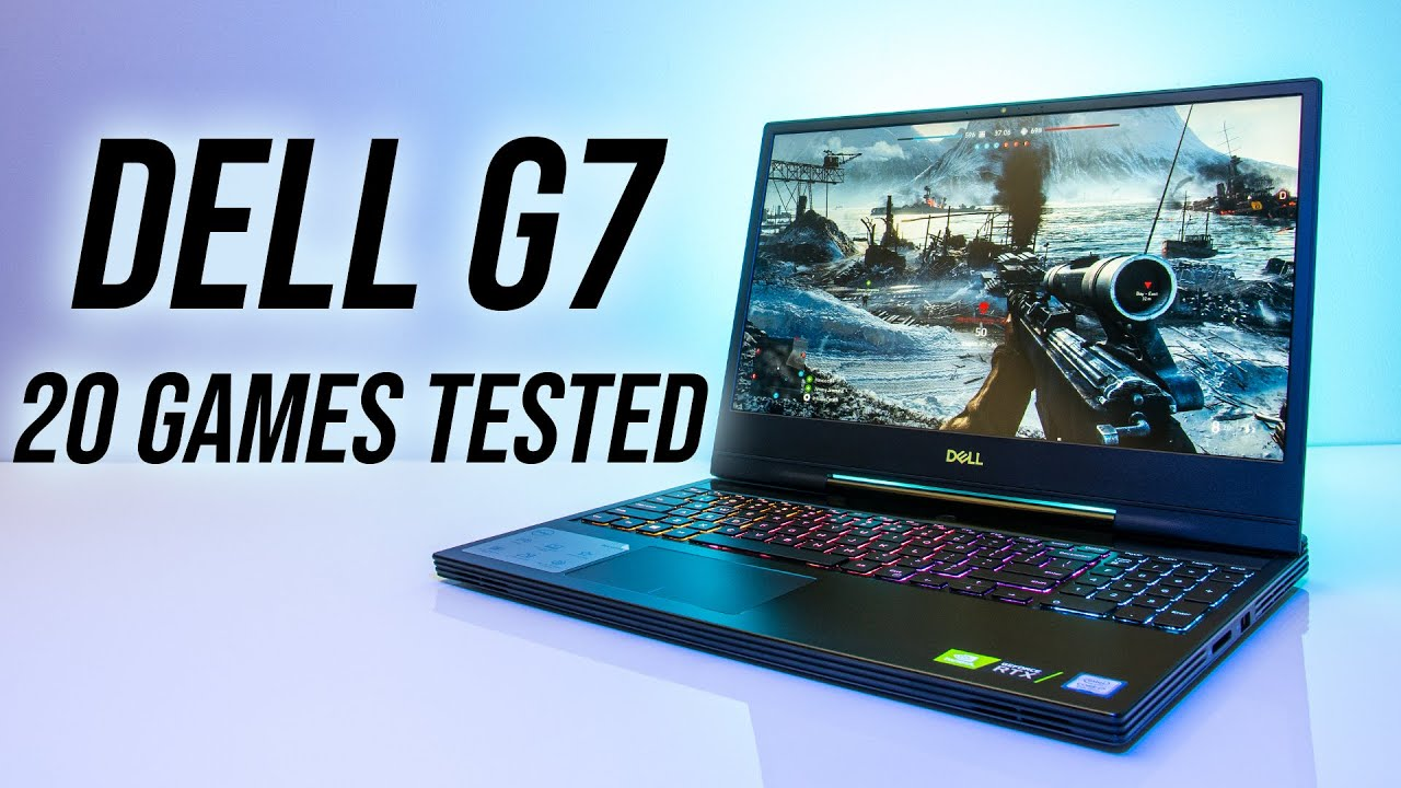 Dell G7 7590 (RTX 2060) Gaming Benchmarks - 20 Games Tested!