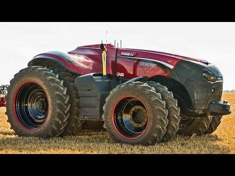 Mega Machines - Autonomous Farm Tractor Concept