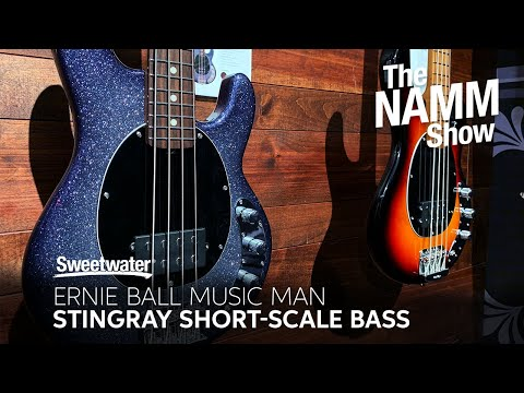 Ernie Ball Music Man Short Scale StingRay Bass at Winter NAMM 2020