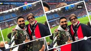 Big B battling cold post FIFA WC 2018