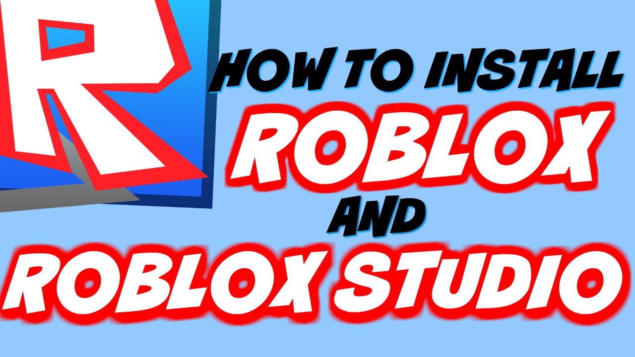 How To Install Roblox & Roblox Studio for FREE