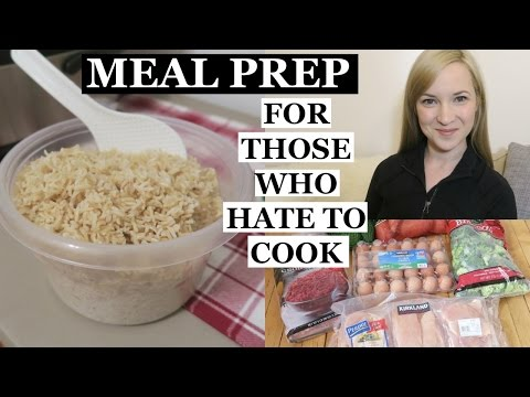 How I Meal Prep for the Week (No Real Cooking Required)