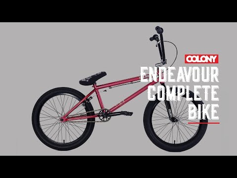 The 2018 Endeavour complete bike is out now. Shown here in the Metal Red colourway. You can get more info here: ...