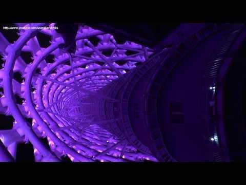 World's Longest Spiral Staircase - Canton Tower Spider Walk