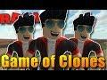 VYHRÁL JSEM KLONOVOU VÁLKU!   ROBLOX : Game of Clones