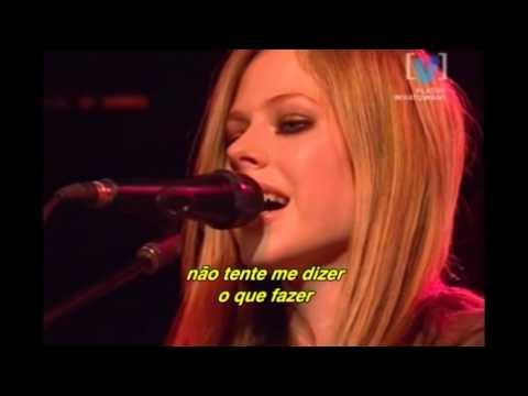 Avril Lavigne - Don't Tell Me (Live on Channel V 2004) (Legendado)