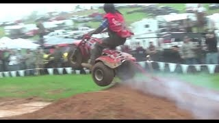 Joe Dirt Highlifter Mud Nationals Nats 2014 Obstacle Course 3 Wheeler Mullet Smoking