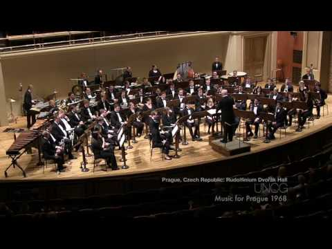 UNCG Wind Ensemble: Music for Prague Mvt. III (Karel Husa)