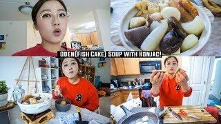 foodvlog#26 | Fish Cake Hotpot/Oden Nabe ft gonyaku(konjac)