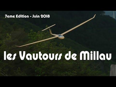 2018 - Les Vautours De Millau - 7eme Rencontre Sur Le Larzac