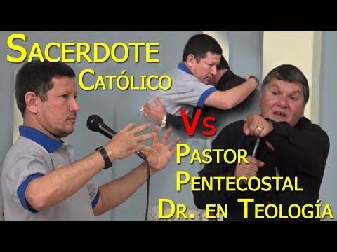 Pastor Pentecostal Dr. En Teologia Vs Sacerdote Católico