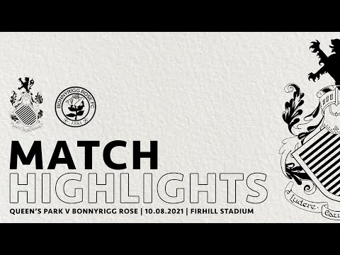 Queens Park Bonnyrigg Rose Goals And Highlights