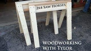 2x4 Saw Horses