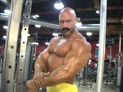 Rusty Jeffers - Standing Barbell Curl (Bodybuilding) - YouTube