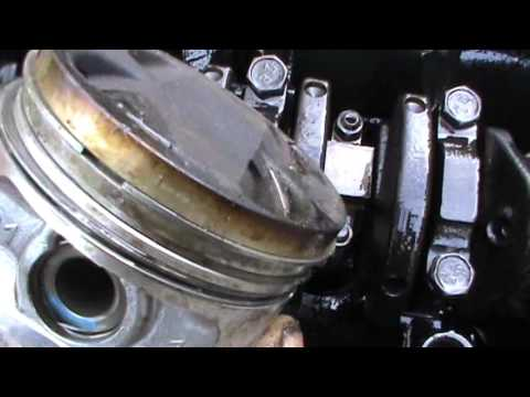 Начало ремонта 16 клапанного двигателя ВАЗ 2110