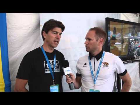 Amgen Tour of California 2014 - Frankie Andreu Interview