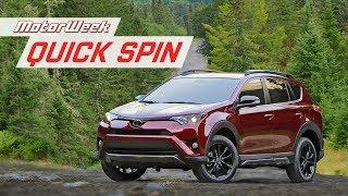 2018 Toyota RAV4 Adventure | Quick Spin