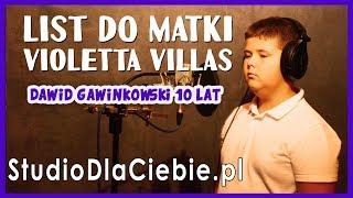 List do matki / Do Ciebie Mamo - Violetta Villas (cover by Dawid Gawinkowski) #1507
