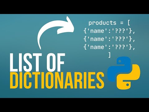 Dictionaries in Python - Basics and List of Dicts