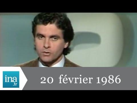 20h Antenne 2 du 20 février 1986 - Archive INA