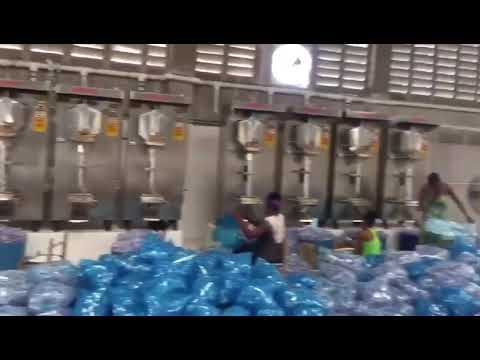Automatic Filling Packing Pure Drinking Sachet Water Making Machine