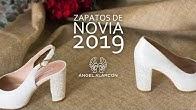 0a5ebccd88 Zapatos de novia 2019 - Ángel Alarcón - Duration  82 seconds.