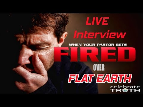Church Fires Pastor over FLAT EARTH | Interview w/ Nate Wolfe