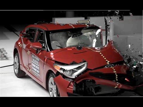 Краш тест Hyundai Veloster 2014
