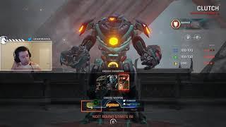 Rapha playing Pub duels Quake Champions