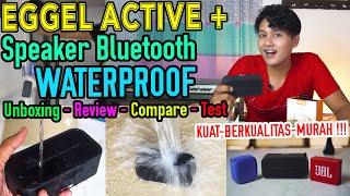 Speaker Bluetooth Waterproof  murah Terbaik   Eggel Active Plus