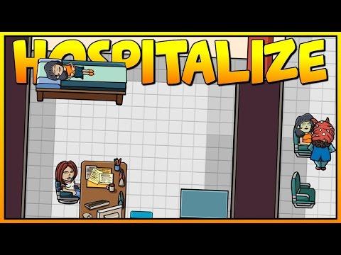Pharmacy & Sanitation - Hospitalize - Let's Play Hospitalize Gameplay