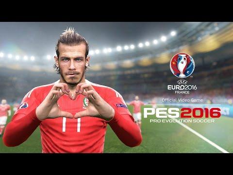 Pes 2016 UEFA EURO 2016 เข้าชิงจนได้ aaron ramsey ชูถ้วยเลย