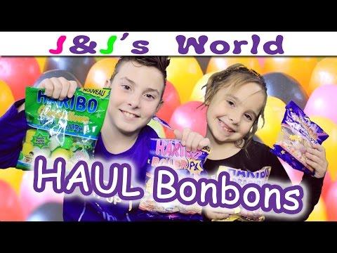 """Haul et Dégustation """"Bonbons Haribo""""  (Nouveautés)"""