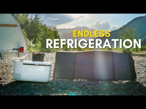 The BEST Portable Fridge and Solar Combo for Camping on a Budget!