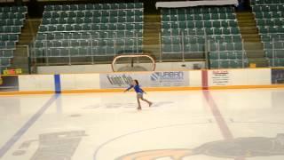 Maddi gold medal skate at Potsdam 2014/12/13