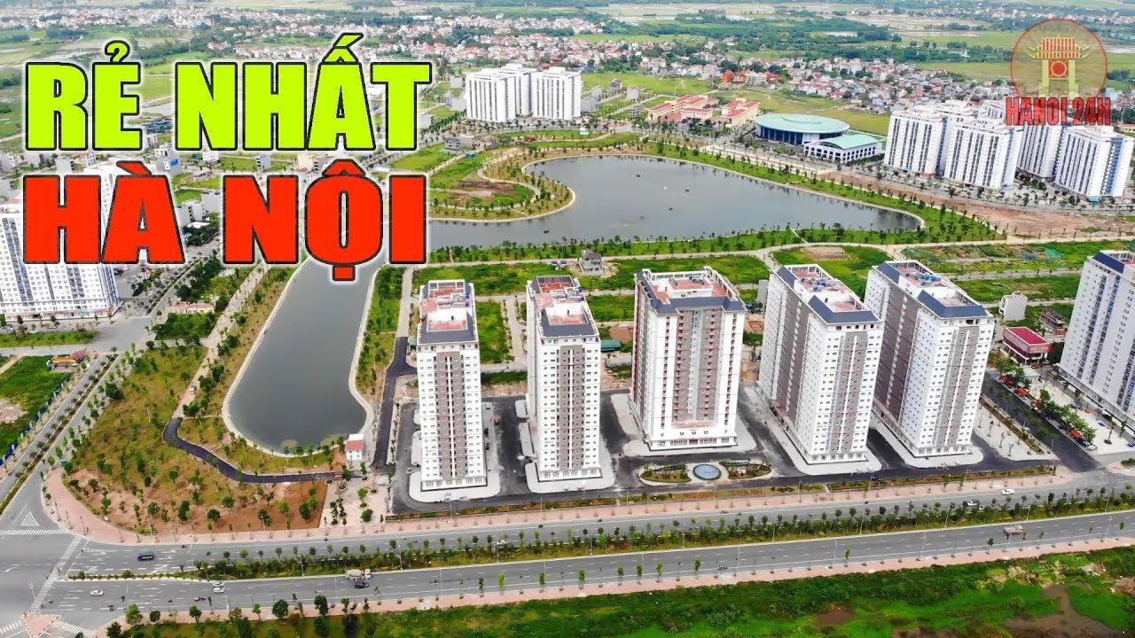 Nơi Chung Cư rẻ nhất Hà Nội, khu đô thị Thanh Hà của đại gia Thanh Thản có gì đáng sống?