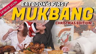Eatbook's First MUKBANG: Christmas Edition   Eatbook Vlogs   EP 65