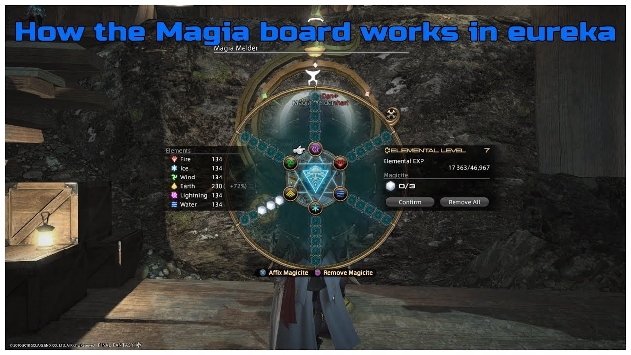 FFXIV stormblood patch 4 25 How the Magia Board works in Eureka